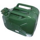 Carpoint Benzinekan 10L groen metaal TUV/GS 10011