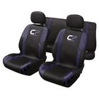Stoelhoesset 9-delig 'CP Sports' blauw airbag Carpoint 0310241