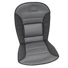 Carpoint Stoelkussen 'Comfort', zwart/grijs 23276
