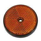 Carpoint Reflector rond 70 mm oranje bulk 13955