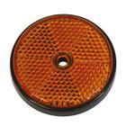 Carpoint Reflectoren rond 70 mm oranje 2st 13960