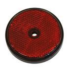 Carpoint Reflectoren rond 70mm rood 2st 13961
