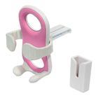 Carpoint Exspider telefoonhouder roze 10053