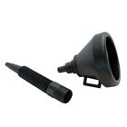 Carpoint Trechter zwart flexibele tuit 23402