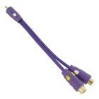 Carpoint Verloopkabel tulp 1x fem.->2x male 10565