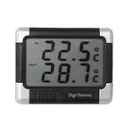 Carpoint Thermometer binne/buiten zwart/zilver 21212