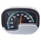 Carpoint Thermometer zilver/zwart 23401