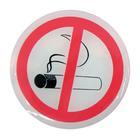Carpoint Plaatjes 'niet roken', 2 stuks 23410