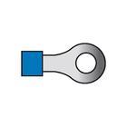 Carpoint Kabelverbinders 654 blauw 50st 23515