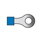 Carpoint Kabelverbinders 654 blauw 10st 23815