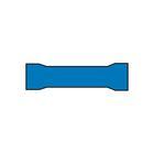 Carpoint Kabelverbinders 546 blauw 10st 23819
