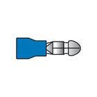 Carpoint Kabelverbinders 550 blauw 10st 23821