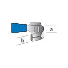 Carpoint Kabelverbinders 562 blauw blister 10st 24026