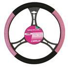 Carpoint Stuurhoes zwart/roze 10044