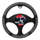 Carpoint Stuurhoes Silverstone grijs/zwart 10086