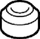 Elring Kleppendeksel afdichtkegel 915.009