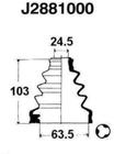 Nipparts Aandrijfashoes J2881000