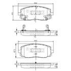 Nipparts Remblokset J3600323