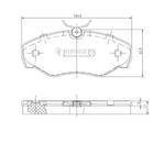 Nipparts Remblokset J3601080