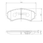 Nipparts Remblokset J3605039