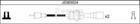 Nipparts Bougiekabelset J5383024