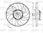 Valeo Ventilatorwiel-motorkoeling 696082