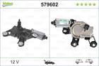 Ruitenwissermotor Valeo 579602