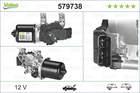 Ruitenwissermotor Valeo 579738