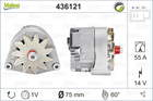 Valeo Alternator/Dynamo 436121