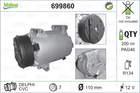 Valeo Airco compressor 699860