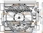 Hella Ventilator aircocondensor 8EW 351 040-101