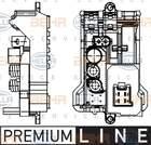 Hella Regeleenheid interieurventilator 5HL 351 321-141