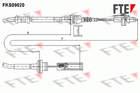Fte Koppelingskabel FKS09020