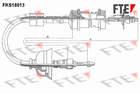 Fte Koppelingskabel FKS18013