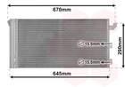 Airco condensor Van Wezel 17005406