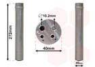 Airco droger/filter Van Wezel 4300d493