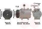 Van Wezel Airco compressor 5900K121
