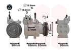 Van Wezel Airco compressor 8300K121