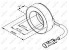 Nrf Spoel magneetkoppeling Airco compressor 38475