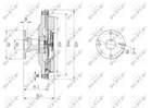 Nrf Ventilatorkoppeling 49602