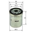 Bosch Brandstoffilter 1 457 434 153