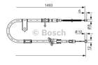 Bosch Handremkabel 1 987 477 055