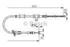 Bosch Handremkabel 1 987 477 676