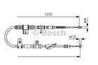 Bosch Handremkabel 1 987 477 743