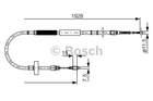 Bosch Handremkabel 1 987 477 922