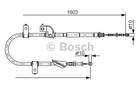 Bosch Handremkabel 1 987 482 080
