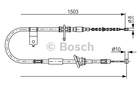 Bosch Handremkabel 1 987 482 164