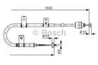 Bosch Handremkabel 1 987 482 166