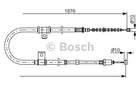 Bosch Handremkabel 1 987 482 183