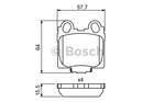 Bosch Remblokset 0 986 494 231